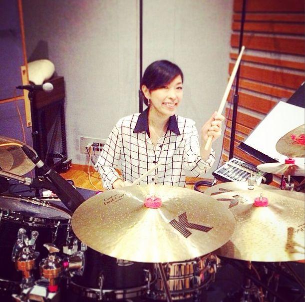 稲葉ソロ~en-ball~ドラマーSATOKOさんのドラム・セットが見れる??