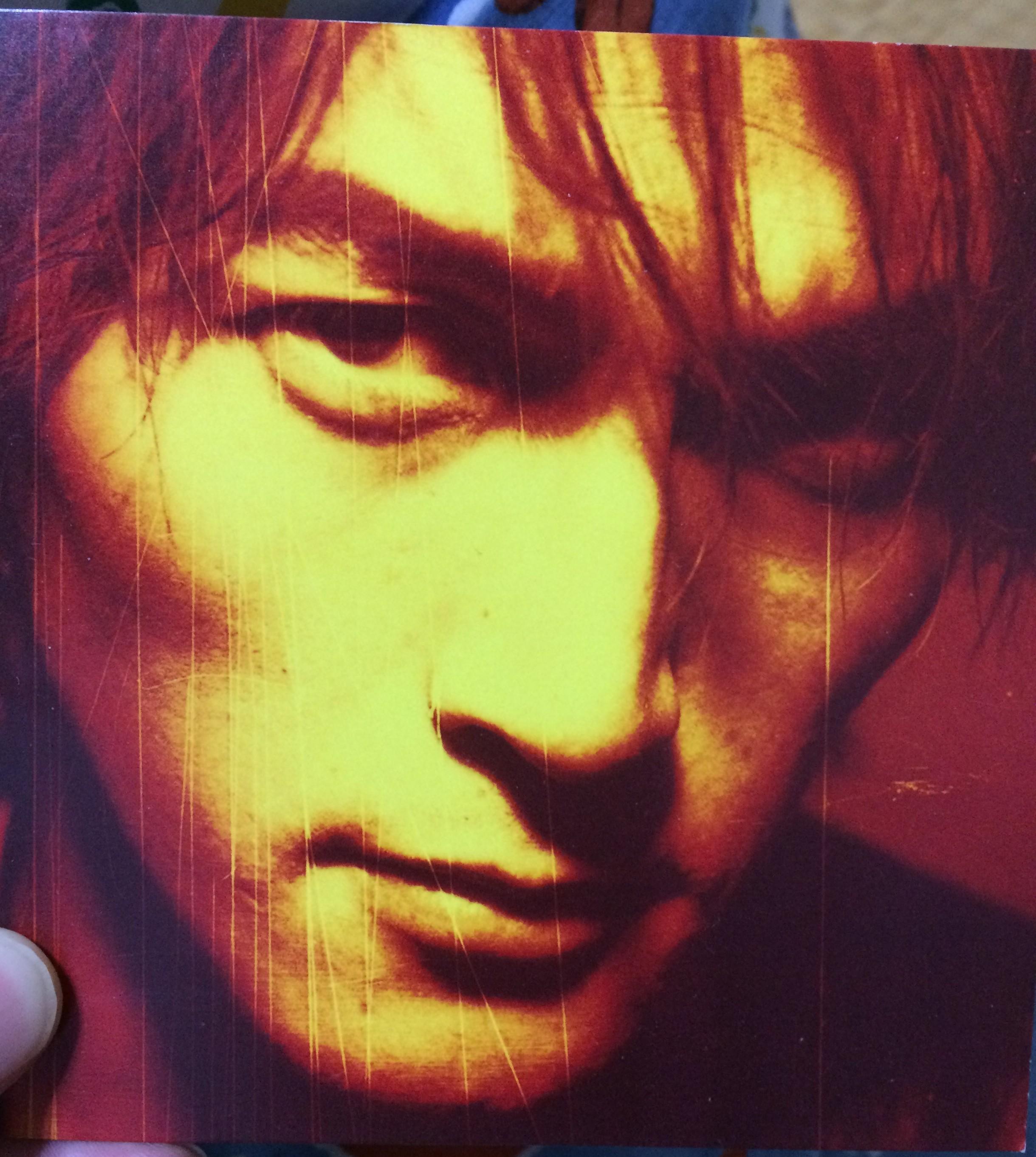 稲葉浩志ソロアルバム マグマの歌詞カードに描かれている絵は誰の作品??